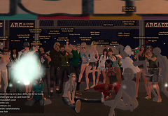 Clouds, grey avatars and great people @ RFL Carnival