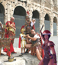 Modern gladiators ( Rome, Colosseum )