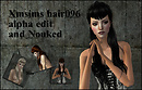 XMsims Female Hair 096B Nouked