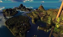 Dark Moon Islands