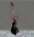 Female Opera Singer sculpture - White Lebed