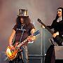 Iraconda Demonia and Slash, Guns N' Roses on stage