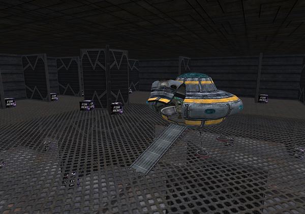 Role Play Market - Sci-Fi & Futuristic RP Interior