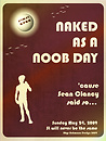 NAKED nOOb Day posterV 2
