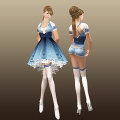 ::RC:: OZ DRESS <Dorothy>