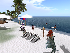 The RfL beach event at Rocky Point