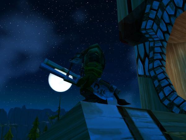 Sniper's perch in Thunder Bluff