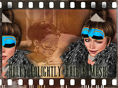♥ Holly Golightly Hair and Mask ♥
