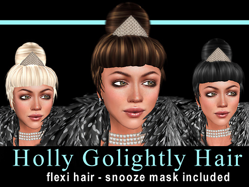♥ Holly Golightly Hair and Mask ♥ Promo