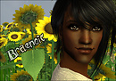 Braenoic Sunflower Portrait