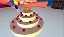 birthday cake for anoushka