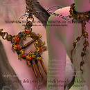 New Renaissance French Brooch Necklace