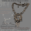 One of Six Metals the new Renaissance Necklace Converts To