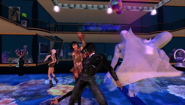 rafee, xavi at club neptune
