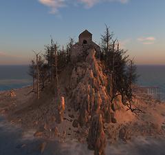 Second Life world