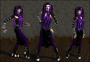 Purple Cyberpunk Sim