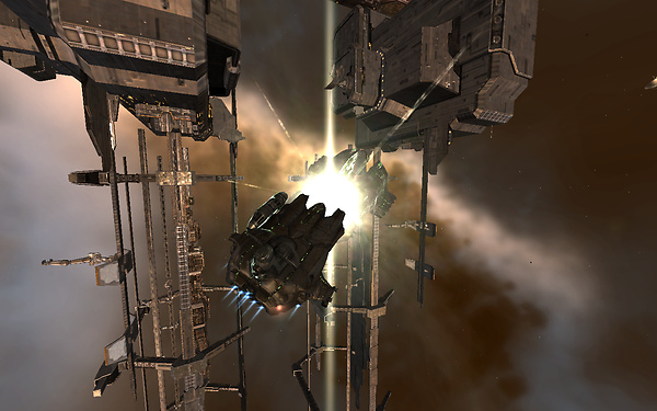 Eve Online: stuck
