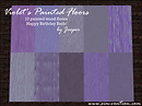 Violet's Painted Floors