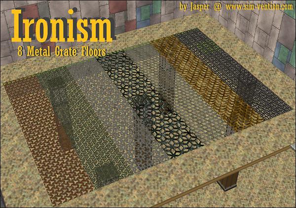 Ironism - Metal Grate Floors