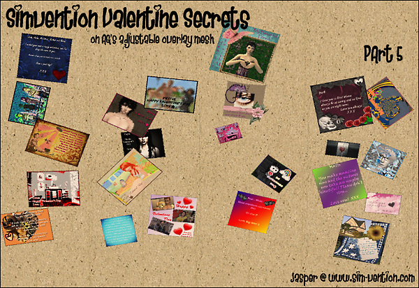 Simvention Valentine Secrets Part 5