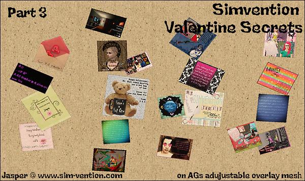 Simvention Valentine Secrets Part 3