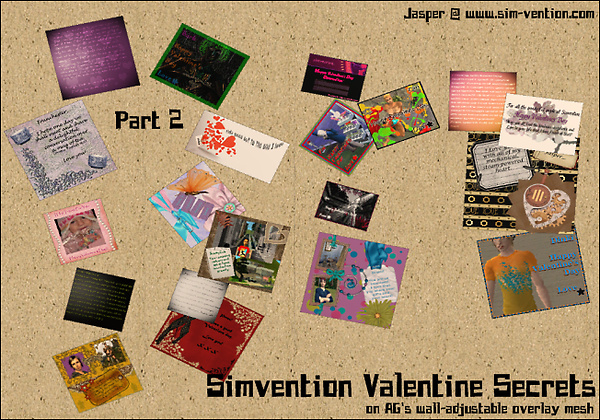 Simvention Valentine Secrets Part 2