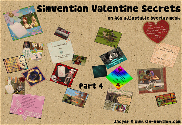 Simvention Valentine Secrets Part 4