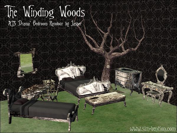 The Winder Woods Bedroom