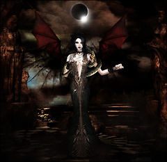 Et je te donnerais des baisers froids comme la lune et des caresses de serpent