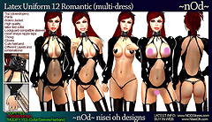"Latex Uniform ""Romantic"""