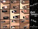 black fantasy - 9 nails