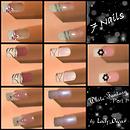 white fantasy - 7 nails