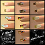 gold fantasy - 7 nails
