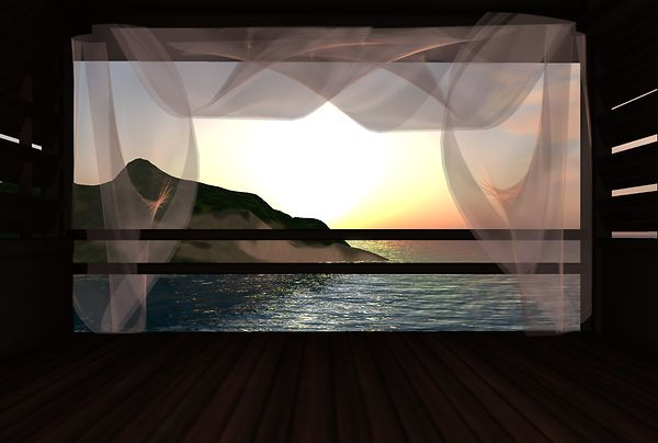 Milli Santos - Beach House Window