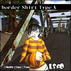 border Shirt Type_A
