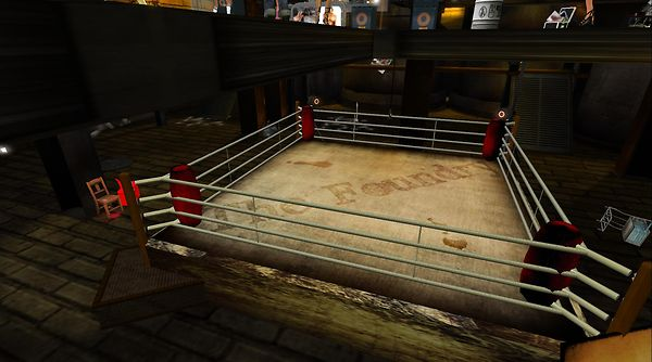 boxing ring at the foundry