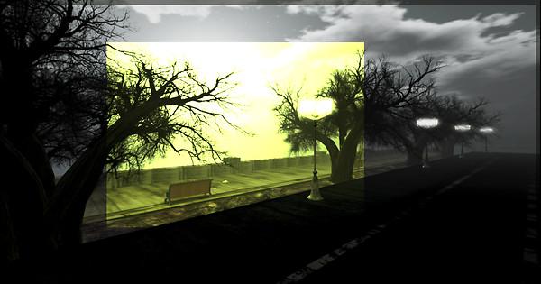 street and light