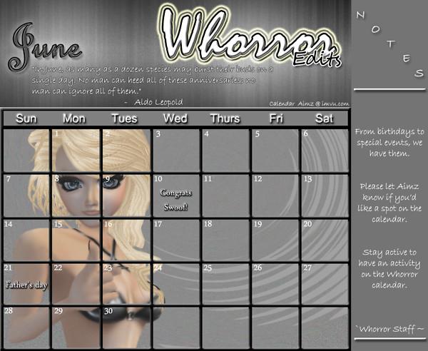 Whorror June