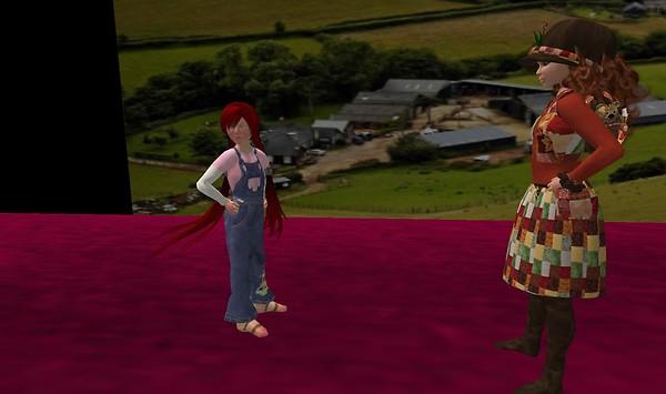 Farmer's visitor - Lorimae Undercroft