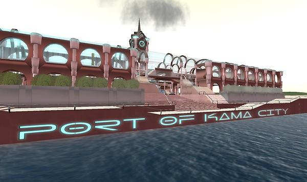 Port of Kama City - Lorimae Undercroft