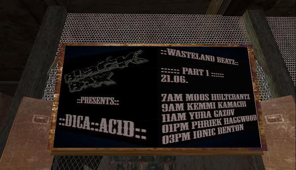 dica acid poster