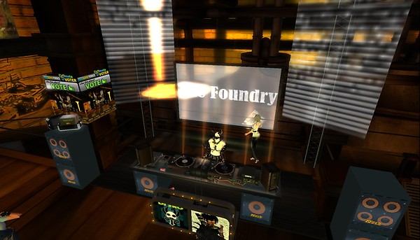 the foundry party