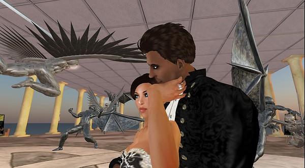 virtual world couple