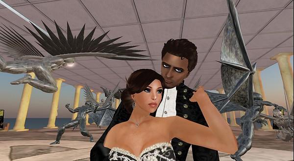 virtual world of second life