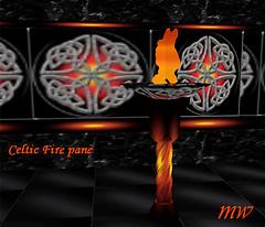 Animated Celtic Fire Pane