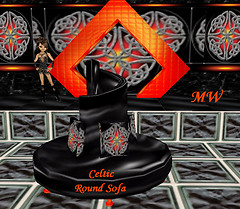 Celtic Round Sofa