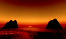 Sunset in Bloodmyst Isle 2