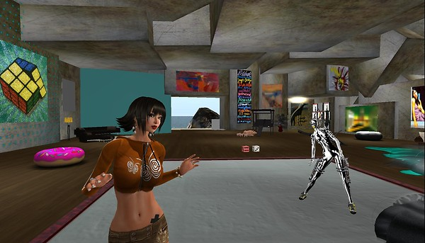 rafee and lolla at rubiks mus...