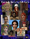 Female Sims by Blh123