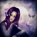 Violet tears
